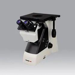 Dewinter Binocular Metallurgical Microscope Model: DMI Excel, Eyepiece: 10X (paired) F.O.V. 18mm