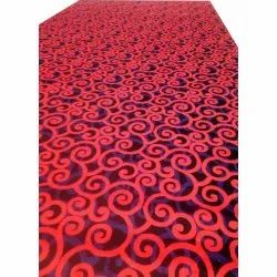 For Movie Theater Red Printed Cinema Hall Carpet