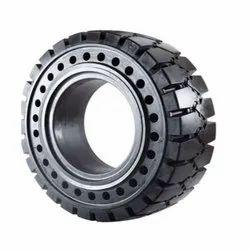 16.9-28 8 Solid Aperture Forklift Tire