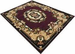 Plain Brown Acrylic Carpet