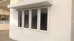 Water proof upvc window