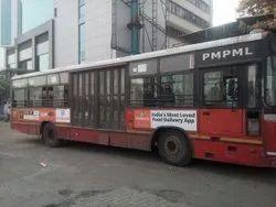 Vinyl Stiker Outdoor Bus Shelter Advertisement, in Pune,Mumbai