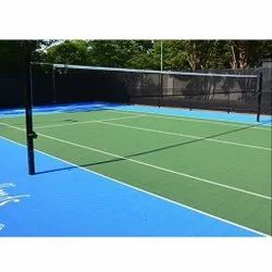 Synthetic Sports Court Flooring Services