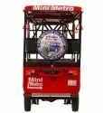 Mini Metro Red E Rickshaw