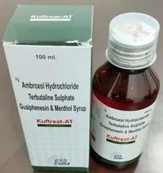 Ambroxol 15mg +Terbutaline 1.25mg+Guaiphenesin50mg+Menthol2.5mg Cough Syrup