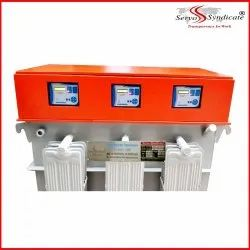 Automatic Three Phase 200 KVA Servo Voltage Stabilizer, For Industrial, 460 V