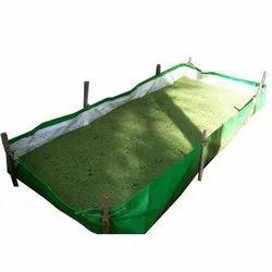 Green HDPE Vermi Bed