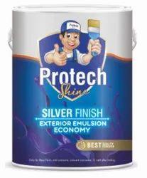 Soft Sheen Blue Silver Finish Exterior Emulsion Economy, Brush