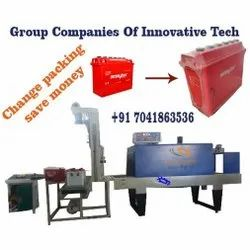 Automatic Battery Shrink Wrapping Machine