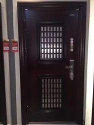 Mild steel Rio Kage (Double Door), For Home