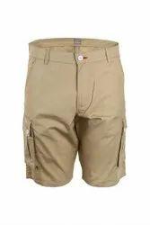 Non Elastic Cargo Shorts
