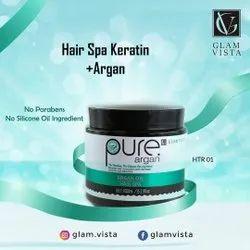 Glam Vista Herbal Hair Spa Keratin Oil, For Parlour