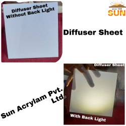 Polycarbonate LED Diffuser Unbreakable Sheet