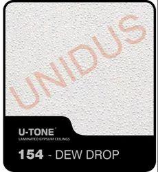 154 Dew Drop PVC Laminated Gypsum Ceiling Tile