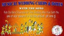 Wedding Card Sahi Chithi Boxes Musical Song Module Rab Da Kara Shukrana Ve Tere Zindagi