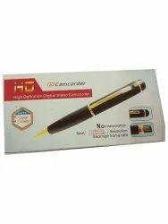 Black Spy Pen Camera, For Security