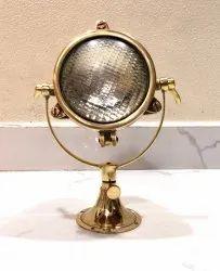 Modern Antique Nautical Headlamp Design Bedside Desk Mini Spot Light