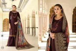 Lavina Vol 121 By Lavina Pure Silk Embroidery Charming Look Designer Suits
