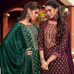 Vardan Ethnic Multicolor Ladies Heavy Rayon Printed Ready Made Dress