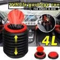 4L Collapsible Car Dustbin Garbage Can