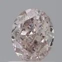 Oval 0.70ct Fancy Pinkish Brown SI2 GIA Certified Natural Diamond
