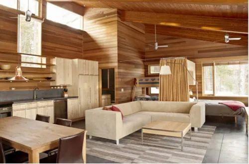 Wooden Interior Decoration Service, Work Provided: Wood Work & Furniture