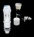 White Pvc Dual Flush Syphon Set, For Toilet, Size: 1 Inch