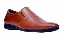 Red Designer Leather Shoes