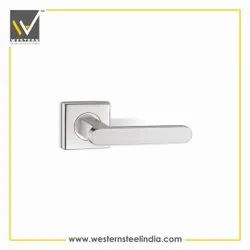 Stainless Steel Solid Mortise Handle, For Door Fitting