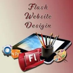 PHP/JavaScript Flash Website Designing Service, With Online Support