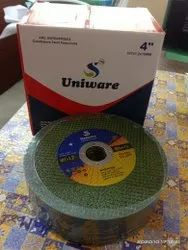 uniware Green And Brown Cutting Disc, Round