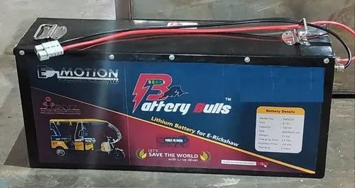Lithium Battery For Electric Rickshaw 48v
