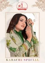 Miss World Choice Karachi Special Cotton Dress Material Catalog