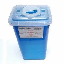 Blue Sharps Cotainer
