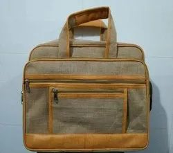 Polyester Mens Cotton Office Hand Bag
