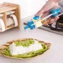 2 In 1 Oil Bottle  2 In 1 Silicone Honey Oil Spray Bottle, Basting Barbeque Baking Tool
