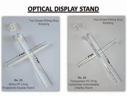 Transparent poly carbonate Optical Goggles Frame Display Stand Airplane