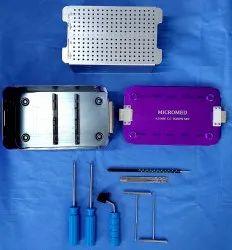 Orthopedic 4.00 MM CC Screw Set