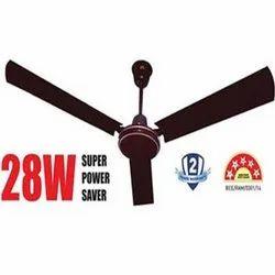 RR Electric Brown 28W Energy Saving Ceiling Fan, Sweep Size: 1200, Fan Speed: 335RPM