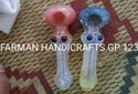 4 INCH HEAVY FRITZ GLASS SMOKING PIPES