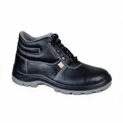 Zain ZM444 Double Density PU Leather Safety / Industrial Shoes