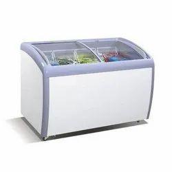 Medium Voltas Curved Glass Top Deep Freezer 320 Litre
