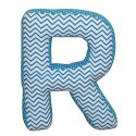 Letter Cushion - Alphabet Cushion Made In Soft Cotton Fabric