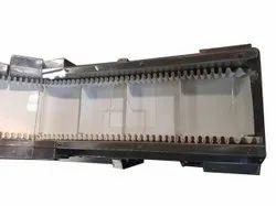 Stainless Steel Food Conveyor Belt, Belt Width: 60mm, Belt Thickness: 5mm