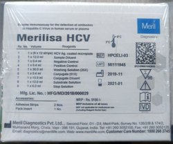 Plastic HCV Elisa Meril Immunology Reagent, For Laboratory