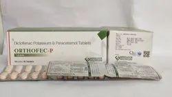 Diclofenac Potassium 50mg Paracetamol 325mg 20X10 BLISTER