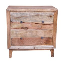 Brown Wooden Cabinet Box, No. of Drawers: 2