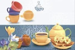Linum Ceramic 10x15 Digital Kitchen Wall Tiles, Thickness: 5-10 mm, Size: 25*37.5 in cm