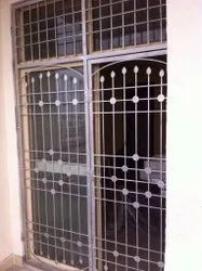 Powder Coated Iron Window Grills, Rectangular