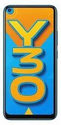 Vivo Y30 (Dazzle Blue, 6GB RAM, 128GB ROM)